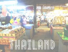 • THAILAND TRAVEL GUIDE • For those traveling to the Kingdom of Thailand here is a guide that navigates through Bangkok, Chiang Mai, Krabi & Ko Phi Phi. The journey is yours to take.