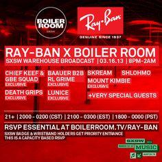 SXSW Focus: Ray-Ban Boiler Room Bass Blitz