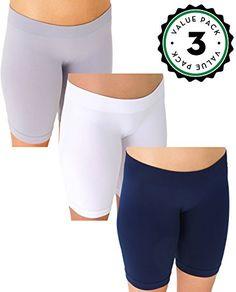 ddee19ecc Women's Workout Shorts, TRIATHLON Active Yoga Boy Short Boxer Brief (3  pack), 1 Dark Grey /1 Tan/ 1 Red OS, Small/Medium at Amazon Women's  Clothing store: