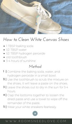 Exceptional Cleaning Tips hacks are offered on our internet site. Take a look and you wont be sorry you did. Deep Cleaning Tips, House Cleaning Tips, Cleaning Solutions, Spring Cleaning, Cleaning Hacks, Cleaning White Canvas Shoes, Cleaning White Vans, Clean Canvas Shoes, Cleaning Shoes