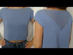 Crochet Shawl, Knit Crochet, Pullover, Nice Dresses, Free Pattern, Knitting, Blouse, Womens Fashion, Crochet Batwing Tops