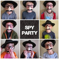 Amazing Secret Agent #birthday #party! Would be so fun for elementary age boys OR girls. Complete with printables, activities, and bomb cupcake ideas!