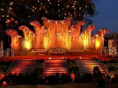 36 Ideas Wedding Themes Indian Stage Decorations For 2019 Wedding Stage Decorations, Wedding Themes, Wedding Events, Wedding Attire, Wedding Bells, Wedding Dress, Inexpensive Wedding Invitations, Inexpensive Wedding Venues, Mehndi Stage