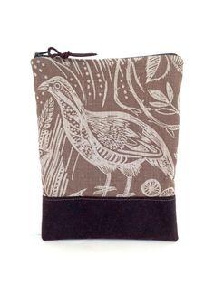 Mark Hearld Harvest Hare Partridge Bag by didyoumakeityourself