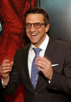 Raul Esparza at the opening night of Bandstand. #Glasses!Raul