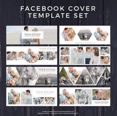 Ideas For Wedding Day Timeline Template Fonts Wedding Album Layout, Wedding Album Design, Wedding Photo Albums, Wedding Book, Facebook Banner, Facebook Cover Template, Facebook Timeline, Photoshop, Photo Templates Free