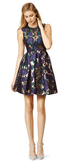 Blue Blossom Dress from RTR - pretty party dress or wedding guest dress