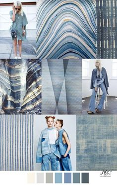Chambray Shades color and trend color trends 2017 color trends Fashion Design Inspiration, Inspiration Mode, Color Inspiration, Moda Fashion, Fashion 2017, Fashion Trends, Fashion Stores, Fashion Dresses, Chambray