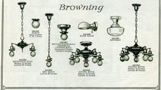 vintage 1920's light fixtures