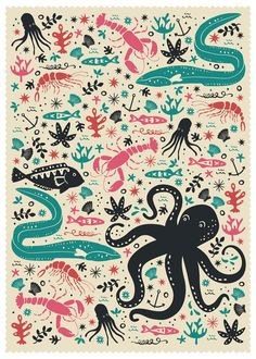 Sea Patrol by Anna Deegan, via Behance