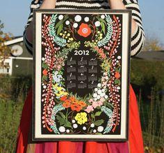 2012 calendar The House That Lars Built via Frolic! $31.75