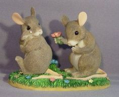 """RETIRED Charming Tails Item 97/720   """"I'm So Sorry"""" : Collectible Figurines : Everything Else"""