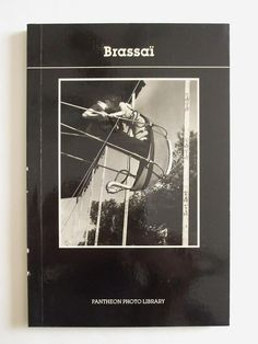 Brassai Photography Pantheon Photo Library Paperback 1988 #PantheonBooksNewYork