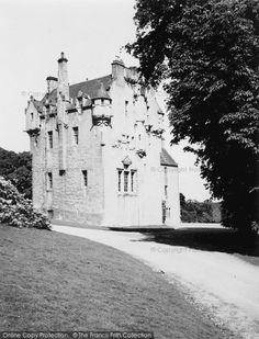 Banchory, Crathes Castle 1949. #Castles #ScottishCastles