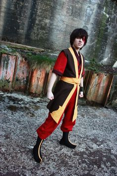 "Janne: Zuko from Avatar: The Last Airbender. Vote for this cosplayer by clicking the ""like"" button on the website!"