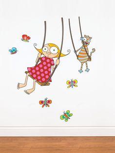 Swing Girl by artist Ségo by ADzif on Gilt.com