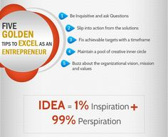 Five golden tips to excel as an Entrepreneur - What Could I Sell
