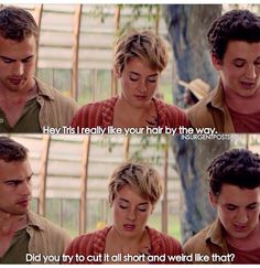 Peter is so rude in Insurgent