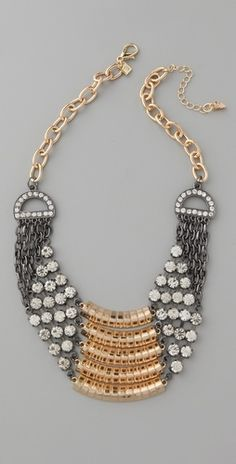 Belle Noel. Layer Pave Necklace. $87.50