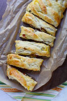 Bacon, Egg & Cheese Breakfast Braid