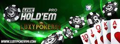 Luxypoker99 adalah sebuah situs yang ingin membantu anda untuk mencari Agen untuk anda bermain Judi Poker Online menggunakan uang asli minimal 10rb.