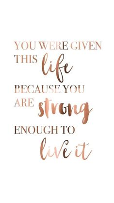 Inspirational and motivational quotes to live your life by Words, and quotes for love and life. Funny quotes, love quotes, sports quotes and quotes for some life motivation Motivacional Quotes, Cute Quotes, Great Quotes, Quotes To Live By, Christ Quotes, Quotes On Walls, Cute Sayings, Tattoo Quotes, Remember Quotes
