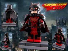 https://www.flickr.com/photos/130596390@N07/  Batman from Justice League 3000 #batman #lego #superheroes #minifig #justice #league #red #DC #IMC