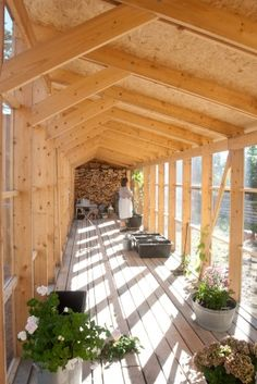 The house in the thicket / Kasper Bonna Lundgaard M.Arch. Natural lifestyle - wood - home - lightness