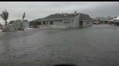 After Hurricane Sandy. Sally Tee's Restaurant in Monmouth Beach, NJ