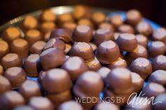 Buckeyes on Pittsburgh Cookie Table, Wedding cookie table, Pittsburgh Wedding Photographers