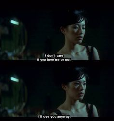Best Movie Quotes : – Picture : – Description Cheun Gwong Tsa Sit – by Wong Kar Wai -Read More – Sad Movie Quotes, Sad Movies, Film Quotes, Cinema Quotes, Citations Film, Movie Dialogues, Into The Fire, Movie Lines, Love Hurts