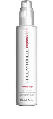 Round Trip®  Liquid Curl Definer    Adds weightless bounce and detail to curls and waves. Helps condition and protect textured tresses. Reduces drying time to get you on your way faster.  Styling agents derived from corn starch add weightless detail.  Panthenol and magnesium sulfate condition   and protect.