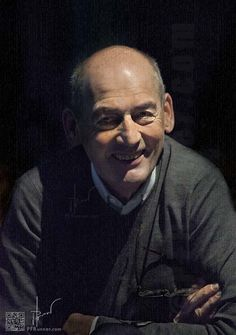 Rem Koolhaas smiling in Paris, 2012 #architects #architectuul