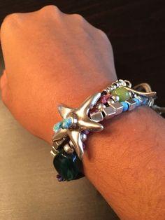 "Uno De 50 Beaded Leather Starfish Bracelet - NEW - multi-colored beads - 7"" in Jewellery & Watches, Costume Jewellery, Bracelets   eBay"