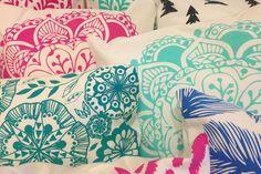 Telas estampadas para decorar tu casa  Los coloridos diseños de Belove.