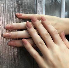 - – 106 Blush Kunst – 106 Erröten Classy Nails, Stylish Nails, Simple Nails, Trendy Nails, Cute Nails, Blush Nails, Pastel Nails, Nail Swag, Nail Manicure