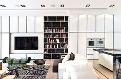Terrace House in Singapore by Architology I Interier I Notranja oprema I Dnevna soba I LIVING