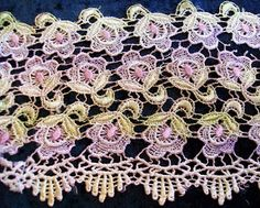 Hand Dying Lace Tutorial