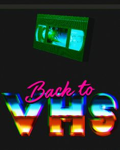 3f4b21f4fac070 Trending GIF animation movies illustration vintage retro vhs childhood  lettering back to vhs