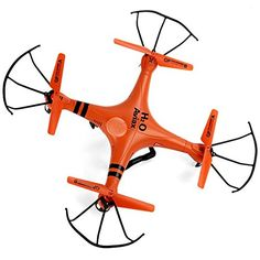 GPTOYS H2O Aviax 24GHz 4CH RC Quadcopter with Waterproof 3D Eversion 6 Axis Gyro Headless Mode LCD Remote ControllerOrange *** Want to know more, click on the image.Note:It is affiliate link to Amazon.