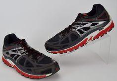 Brooks Beast 14 Black Red Running Shoes Men's Size 12 Medium #Brooks #RunningCrossTraining