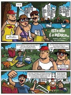 """""""Isto não é o México..."""" (with Pedro Carvalho) page #1"""