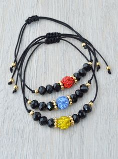 DSC_037981 Diy Friendship Bracelets Patterns, Diy Bracelets Easy, Bracelet Crafts, Cute Bracelets, Gemstone Bracelets, Handmade Bracelets, Bracelets For Men, Jewelry Bracelets, Jewelery