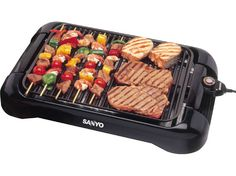 Buy Sanyo 17x12-in. Nonstick Smokeless Indoor Barbecue Grill at Best Buy Kitchen Shop. Get Small Appliances and Sanyo, along with reviews, home entertaining tips and more. Cook and Entertain like a pro with kitchenware from Best Buy Kitchen Shop.