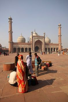 Jama Mosque, Indias Largest Mosque