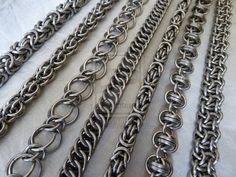 #Chainmaille by ~S-Chainmaille on deviantART