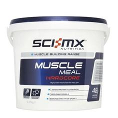 Sci-MX Muscle Meal Leancore - Strawberry High protein meal shake for lean muscle gain. Protein to Carb ratio. boosted with VIT-MX-SPORTtrade Muscle Food, Gain Muscle, Build Muscle, Muscle Building, Muscle Mass, Bodybuilding Recipes, Bodybuilding Supplements, High Protein Recipes, Protein Foods