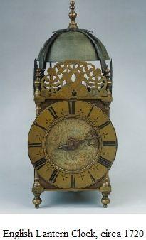 English Lantern Clock, circa 1720