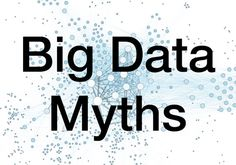5 #BigData Recruitment Myths Busted:  Big Data is a term that can't be escaped these days. Whatever it is you need to know – if your data is big enough then you'll find the answer. Yet it remains a term shrouded in confusion with many in the recruitment sector secretly skeptical as to what Big Data can help them achieve.