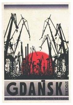 Gdansk - Stocznia Check also other posters from PLAKAT-POLSKA Original Polish poster autor plakatu: Ryszard Kaja data druku: 2014 wymiary plakatu: ok. Poster S, Poster Prints, Graphic Design Illustration, Graphic Art, Hugging Drawing, Polish Movie Posters, Gdansk Poland, Warsaw Poland, Plakat Design